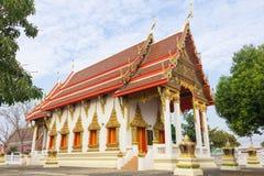 Templo en la prohibición del wat Fotografía de archivo