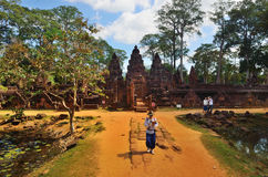 Templo en la selva Foto de archivo