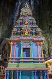 Templo en las cuevas de Batu en Kuala Lumpur fotografía de archivo