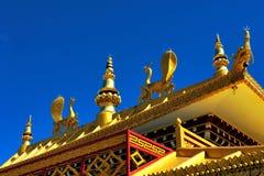 Templo en Nepal Fotos de archivo libres de regalías