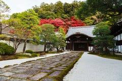 Templo en otoño, Kyoto, Japón de Nanzenji Fotografía de archivo libre de regalías