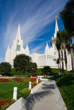 Templo en San Diego fotografía de archivo