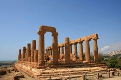 Templo en Sicilia Foto de archivo libre de regalías