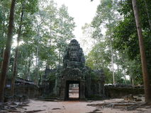 Templo en Siem Reap Imagen de archivo