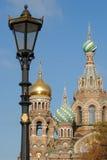 Templo en St Petersburg Foto de archivo