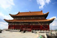 Templo en TA del wutai Foto de archivo libre de regalías