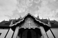 Templo en Tailandia norteña Imágenes de archivo libres de regalías