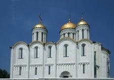 Templo en una ciudad Vladimir Imagen de archivo