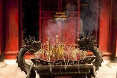 Templo en Vietnam Foto de archivo libre de regalías