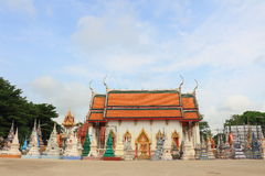 Templo en Wat Tham Chariya Fotografía de archivo