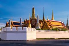 Templo esmeralda de Buda en Bangkok, Tailandia Foto de archivo libre de regalías