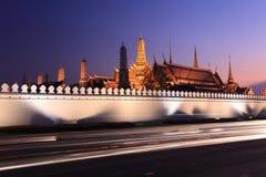 Templo esmeralda de buddha Foto de archivo libre de regalías