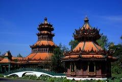 Templo: Estilo dos lombos Imagens de Stock Royalty Free