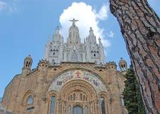 Templo Expiatorio del Sagrado Corazón de Jesús Fotos de Stock Royalty Free