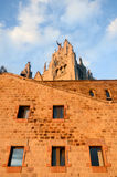 Templo expiatorio del Tibidabo Stock Images