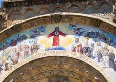 Templo Expiatorio Tibidabo Стоковое Изображение RF