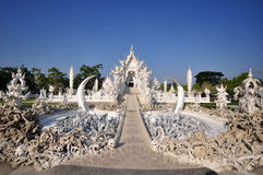 Templo famoso do khun do rong de Wat Fotos de Stock Royalty Free
