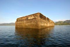 Templo flotante Imágenes de archivo libres de regalías