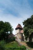 Templo fortificado Foto de archivo