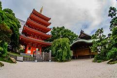Templo Fukuoka de Tochoji Imagenes de archivo