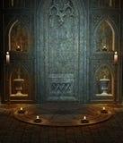 Templo gótico 3 ilustración del vector