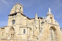 Templo gótico del estilo Imagen de archivo