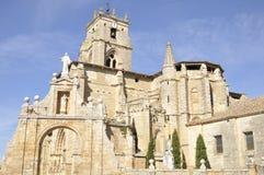 Templo gótico del estilo Foto de archivo