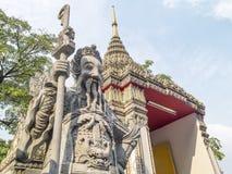 Templo gigante de Pho fotos de stock royalty free