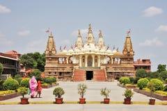 Templo @ Gondal de Swaminarayan de los BAPS Imágenes de archivo libres de regalías