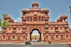 Templo @ Gondal de Swaminarayan de los BAPS Imagen de archivo libre de regalías