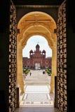 Templo @ Gondal de Swaminarayan dos BAPS Foto de Stock Royalty Free