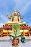 Templo grande de Buda en Koh Samui Imagen de archivo libre de regalías