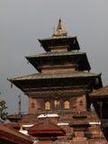 Templo grande en el corazón del cuadrado de Katmandu Durbar Foto de archivo libre de regalías