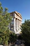 Templo grego Imagens de Stock