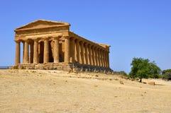 Templo griego Fotografía de archivo libre de regalías