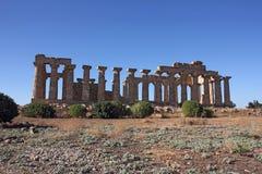 Templo griego Imagen de archivo