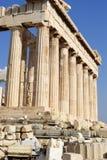 Templo griego - Atenas Fotografía de archivo libre de regalías