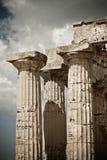 Templo griego en Selinunte fotografía de archivo