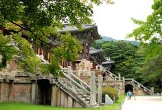 Templo Guk Sa de Bul fotos de stock royalty free