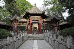 Templo halal de Xi'an fotos de archivo libres de regalías