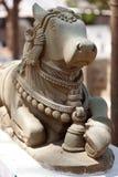 Templo Hampi, Karnataka: figuras decorativas Imagens de Stock
