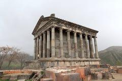 Templo helenístico de Garni Imagen de archivo