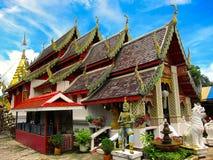 Templo hermoso Imágenes de archivo libres de regalías