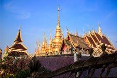 Templo hermoso Fotografía de archivo