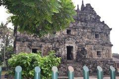 Templo hermoso de la sari en la ciudad de Yogyakarta, país de Indonesia Foto de archivo