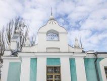 Templo hermoso del invierno Fotos de archivo libres de regalías