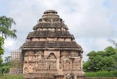 Templo hermoso del sol del konarak, Orissa, la India Foto de archivo libre de regalías