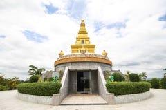 Templo hermoso en la provincia de Nong Bua Lamphu, Tailandia fotos de archivo libres de regalías
