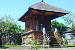 Templo hermoso en NTT Indonesia de Lombok Sumbawa Foto de archivo