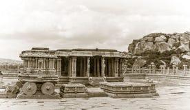 Templo hindú antiguo de Hampi imagen de archivo